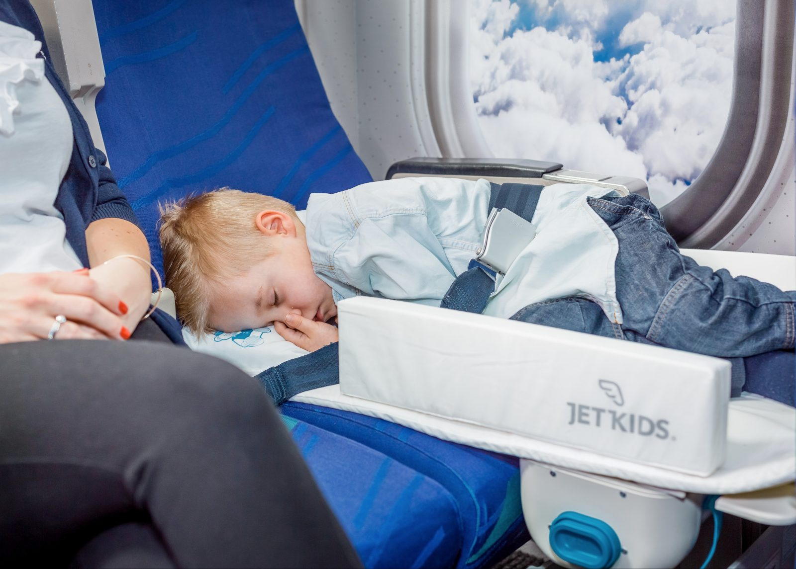 Flying with kids made easier with the BedBox