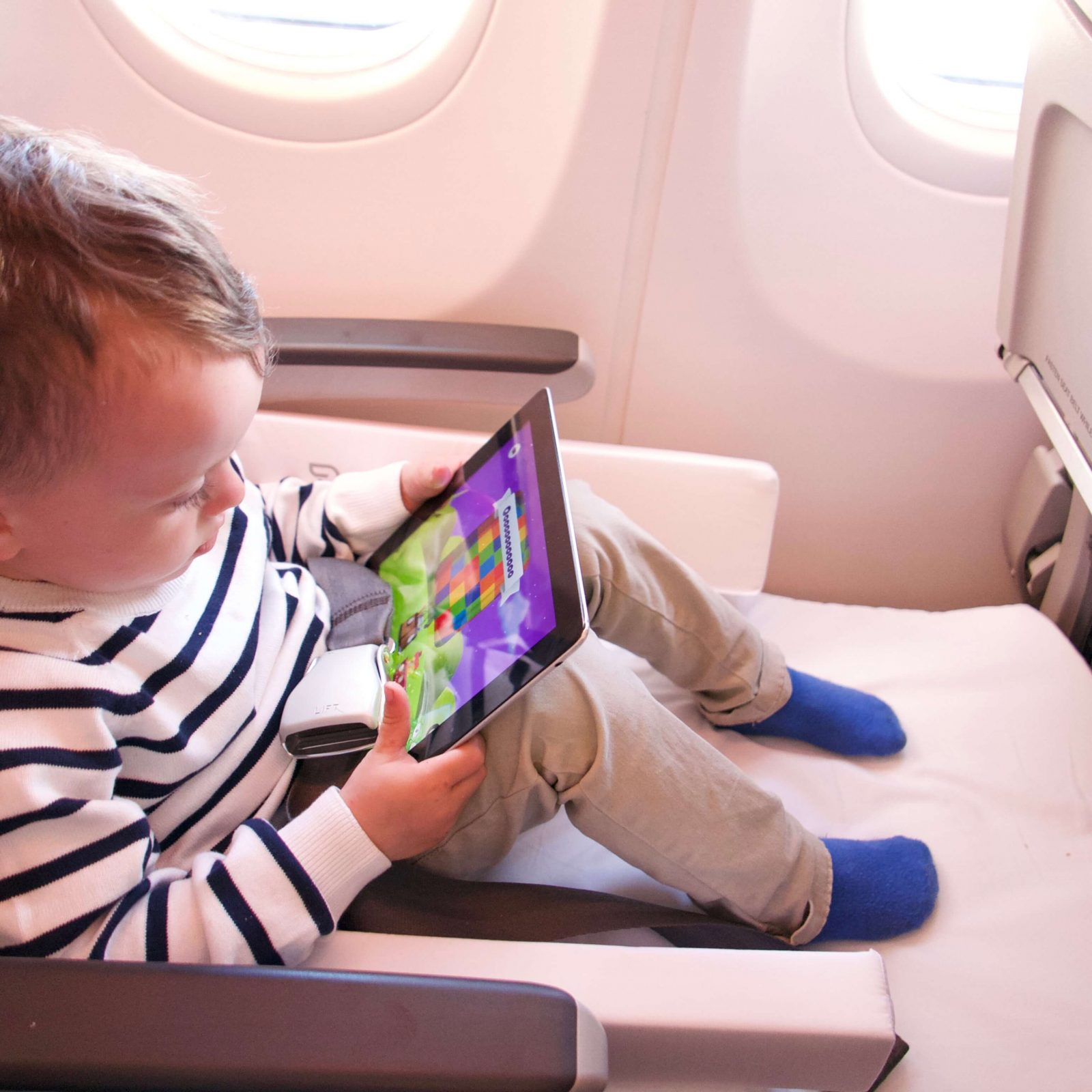 boy watching ipad